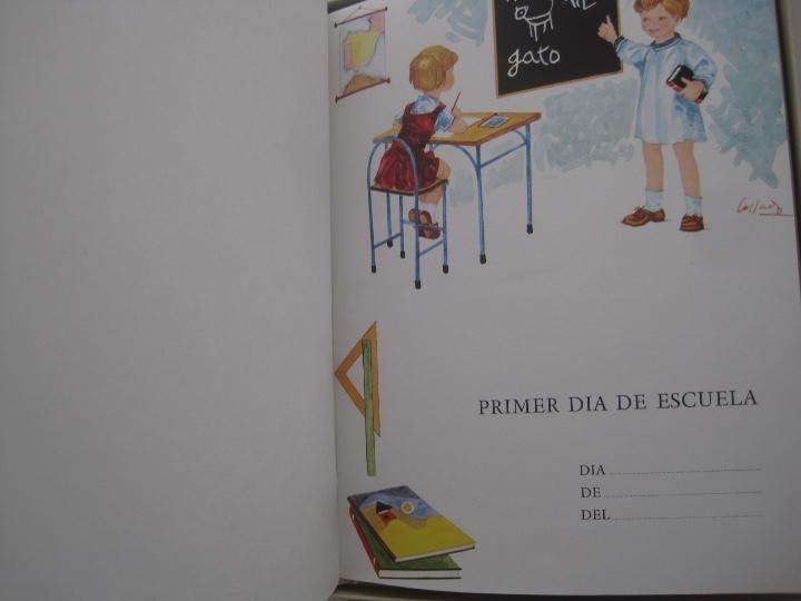 Vintage: NUESTRO BEBE, NACAR, EN SU CAJA DE ORIGEN--LIBRO vintage EL PRIMER DÍA DE TODA UNA VIDA--monar - Foto 6 - 27185591