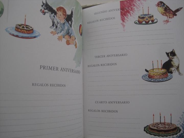 Vintage: NUESTRO BEBE, NACAR, EN SU CAJA DE ORIGEN--LIBRO vintage EL PRIMER DÍA DE TODA UNA VIDA--monar - Foto 7 - 27185591