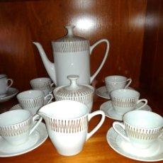 Vintage: JUEGO DE CAFE DE PORCELANA,SELLADO.. Lote 108970312