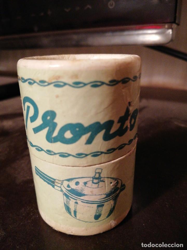VÁLVULA EN SU CAJA ORIGINAL PARA OLLA A PRESIÓN PRONTO AÑOS 70'S (Vintage - Varios)