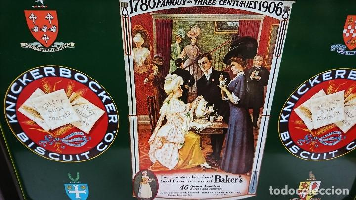 Vintage: BANDEJA VINTAGE BISCUIT, INFEMA, MADE IN SPAIN - Foto 2 - 109340647