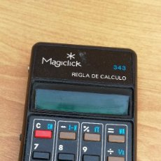 Vintage: CALCULADORA ELECTRÓNICA FABRICADA EN ESPAÑA MAGICLICK NO FUNCIONA. Lote 109662283
