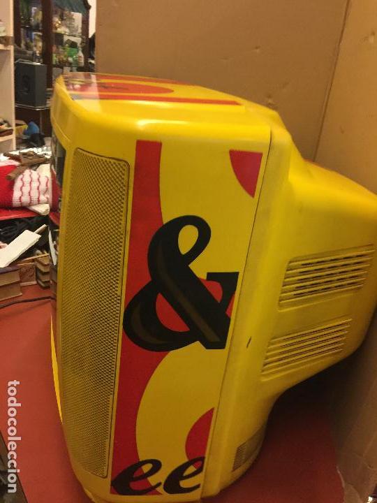 Vintage: Curioso Televisor Vintage, publicidad Whisky J&B. Preciosos colores.Todo original. Funciona.Leer mas - Foto 6 - 110303359