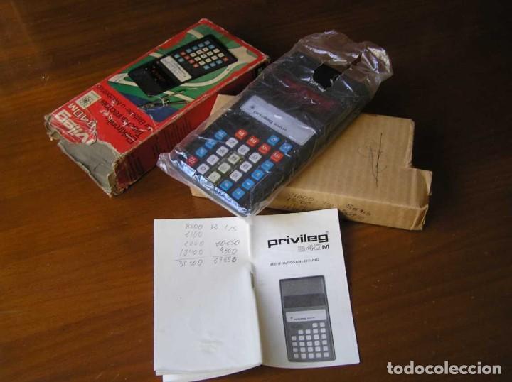 Vintage: ANTIGUA CALCULADORA PRIVILEG 840 M DE LOS AÑOS 70 FUNCIONANDO CALCULATOR ELEKTRONIK-TASCHENRECHNER - Foto 9 - 110878835