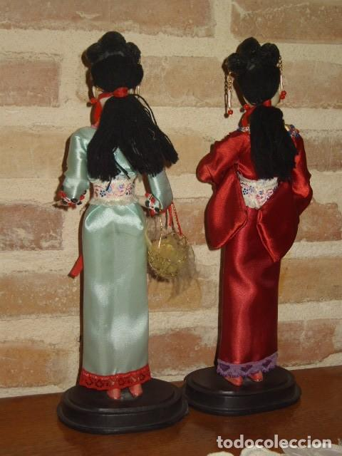 Vintage: MUÑECA GHEISA O THAILANDESA,DE LOS AÑOS 60. - Foto 5 - 110910119