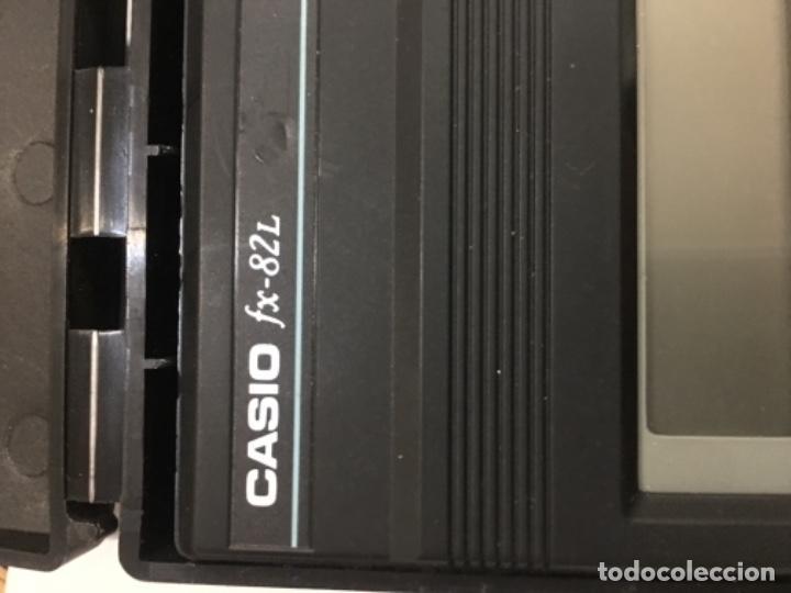 Vintage: Calculadora científica Casio fx-82 L fraction Funciona como nueva - Foto 2 - 110930271
