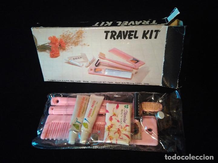Vintage: Antiguo Set o kit vintage de aseo de viaje. Travel kit. Completo sin usar. - Foto 8 - 111089651