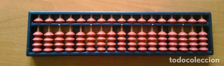 abaco japones soroban de plastico - mental arithkmetic - spain - marca ucmas - 24 x 5,5 cm segunda mano