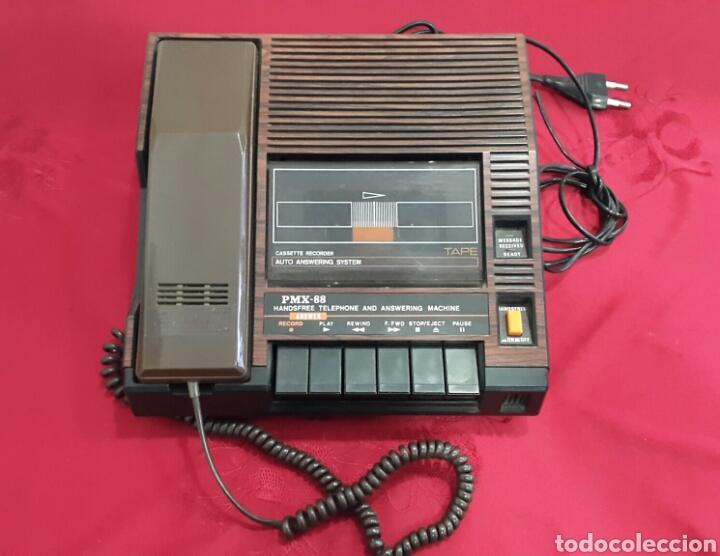 TELÉFONO CONTESTADOR VINTAGE INTERNACIONAL PMX-88 AÑOS 70 (Vintage - Varios)