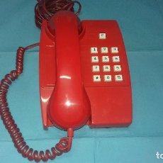 Vintage: TELEFONO ANTIGUO ROJO RUSO AÑOS 70-80. Lote 113427739
