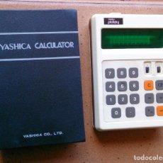 Vintage: CALCULADORA ANTIGUA YASHICA CALCULATOR PICKEY BOOK MADE IN JAPAN. Lote 113467951
