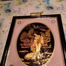 Vintage: BANDEJA SERVIR ESTILO JAPONES. Lote 114033500