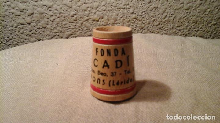 PALILLERO DE MADERA FONDA CADÍ (Vintage - Varios)