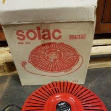 Vintage: BRASERO ELECTRICO SOLAC, SIN ESTRENAR, VINTAGE,. Lote 114945663