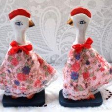 Vintage: PATO DE MADERA-VINTAGE. Lote 115322887