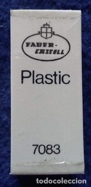 FABER CASTELL GOMA DE BORRAR PLASTIC 7083 AÑOS 80 (Vintage - Varios)