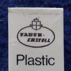 Vintage: FABER CASTELL GOMA DE BORRAR PLASTIC 7083 AÑOS 80. Lote 115465471
