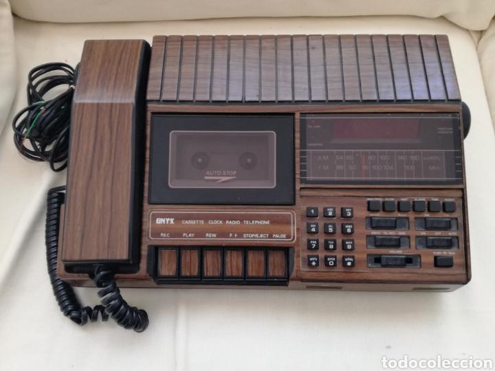 Radio Caset Telefono y Reloj años 70. segunda mano