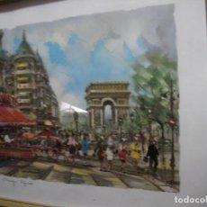 Vintage: ANTIGUA LAMINA ENMARCADA. Lote 116132199