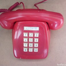 Vintage: ANTIGUO TELÉFONO HERALDO ROJO DE CITESA. Lote 116383352