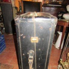Vintage: MALETA VERTICAL PRIMERA MITAD SIGLO XX. Lote 116546403
