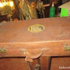 Vintage: MALETA PRIMERA MITAD SIGLO XX. Lote 116546759