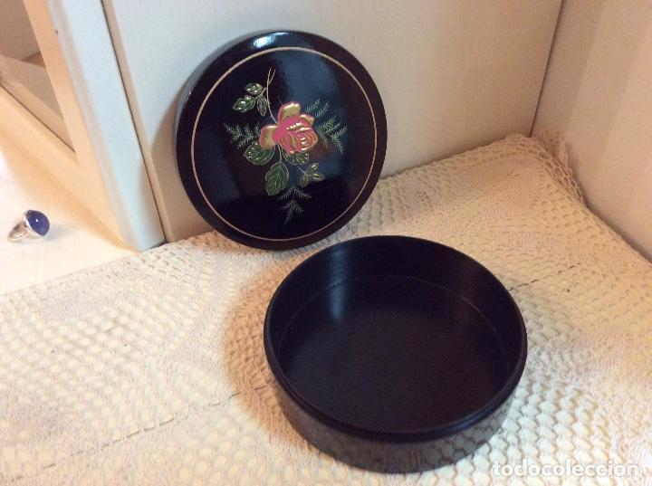 Vintage: Caja redonda japonesa lacada - Foto 2 - 116934171