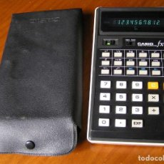 Vintage: CALCULADORA CASIO FX-101 SCIENTIFIC CALCULATOR AÑOS 70 CON SU FUNDA. Lote 117276179