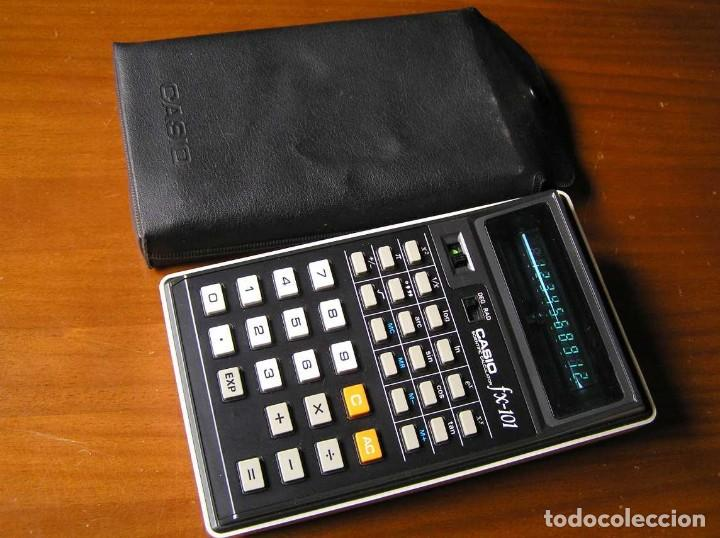 Vintage: CALCULADORA CASIO fx-101 SCIENTIFIC CALCULATOR AÑOS 70 CON SU FUNDA - Foto 41 - 117276179