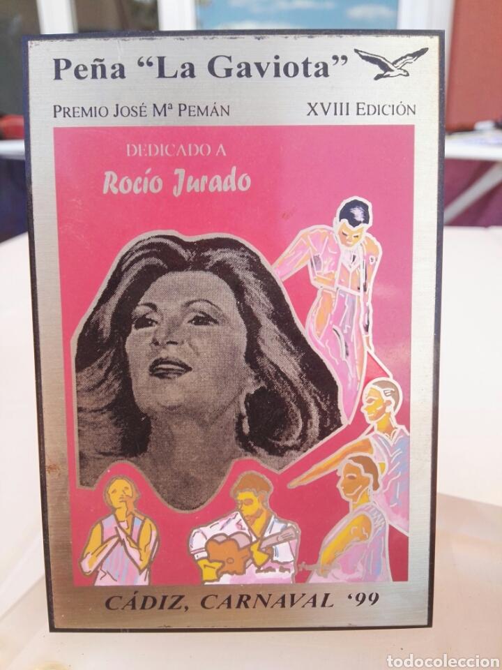 Vintage: Carnaval Cádiz 1999 peña las gaviotas Homenaje Rocio Jurado - Foto 2 - 117440108
