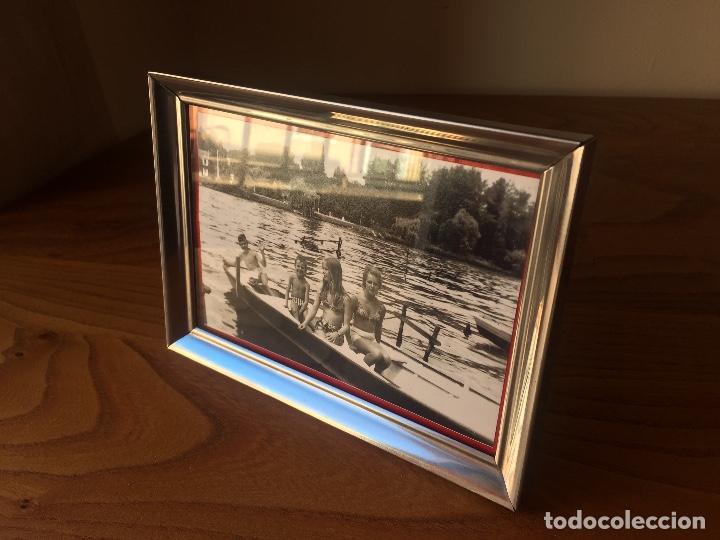Vintage: MARCO / PORTA FOTOS METALICO, VINTAGE - Foto 3 - 117447279
