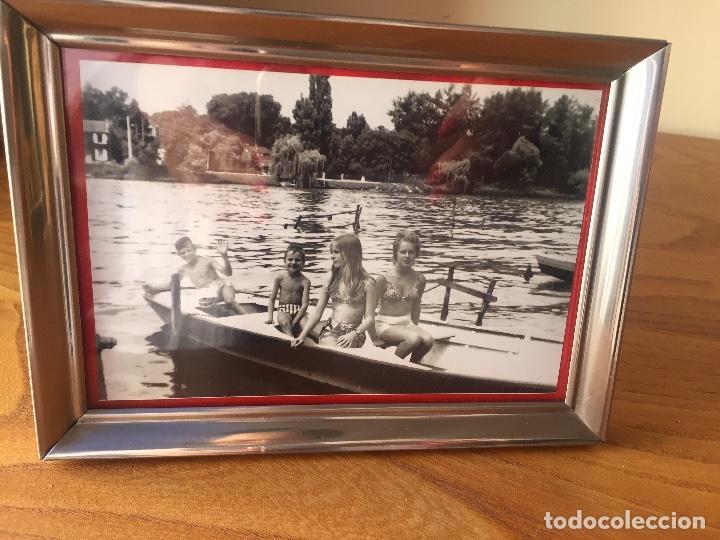 Vintage: MARCO / PORTA FOTOS METALICO, VINTAGE - Foto 4 - 117447279