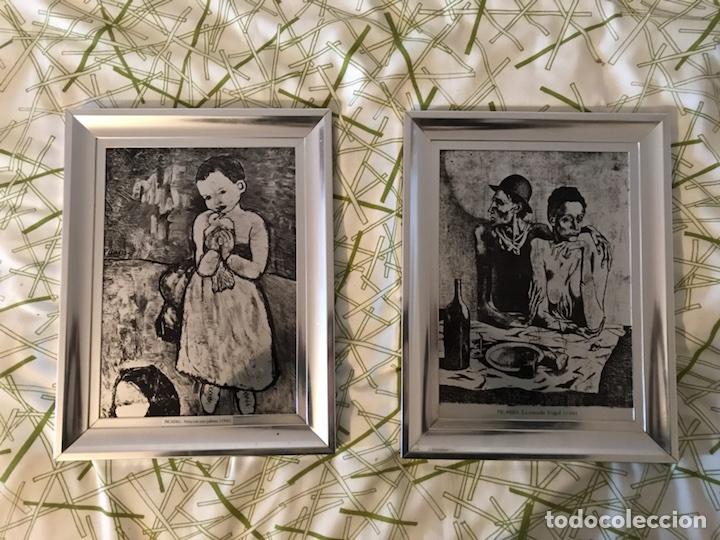 CUADROS REPRODUCCIONES DE PICASSO (Vintage - Varios)