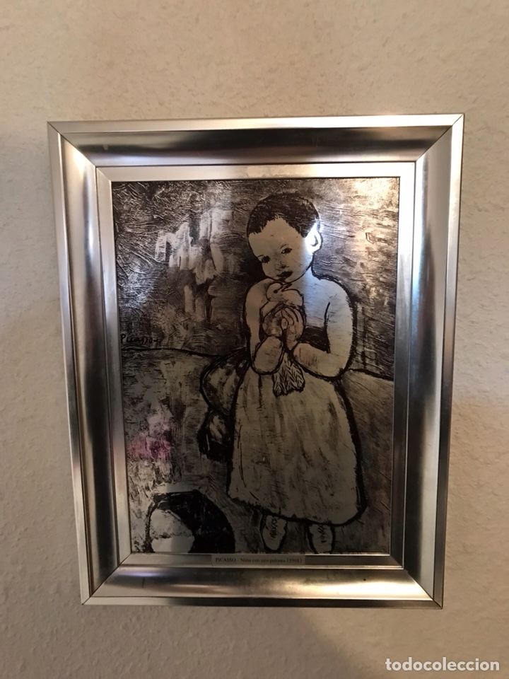 Vintage: Cuadros reproducciones de Picasso - Foto 2 - 118064963