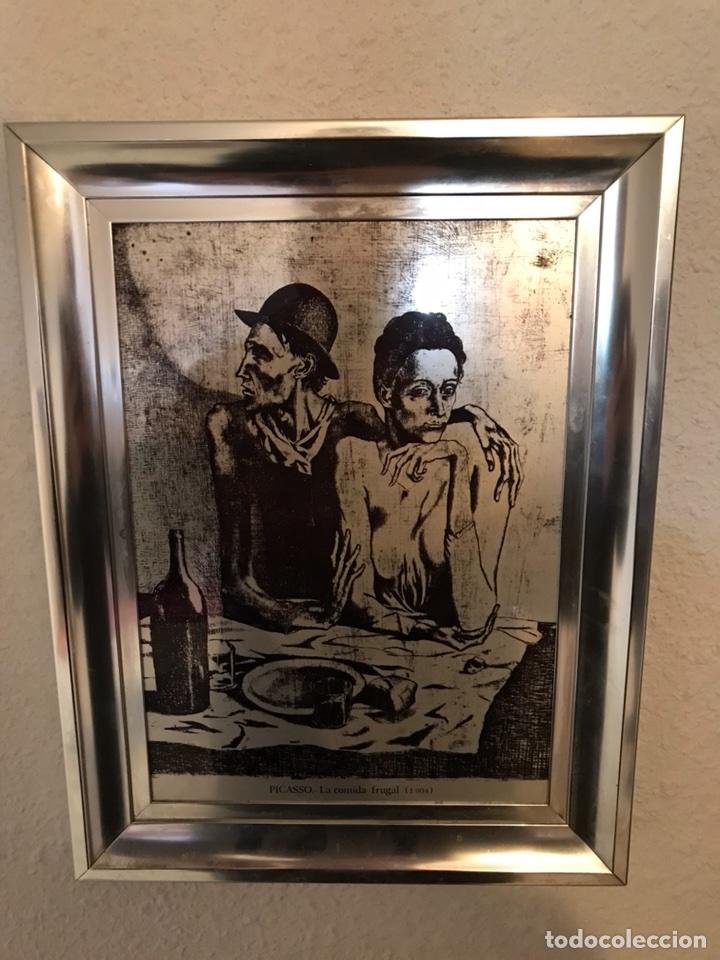 Vintage: Cuadros reproducciones de Picasso - Foto 3 - 118064963