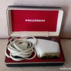 Vintage: MAQUINA DE AFEITAR PHILISHAVE, AÑOS 70. CON ESTUCHE. Lote 118145271