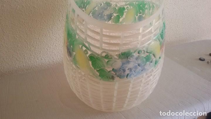 Vintage: Cesta vintage decorada con frutas. - Foto 3 - 118726915