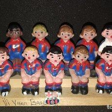 Vintage: ALBOROX, FANTÁSTICO EQUIPO DEL FC.BARCELONA, 11 JUGADORES MAS NIÑO, POSANDO PARA FOTO, UNICO.AÑOS 70. Lote 118749643