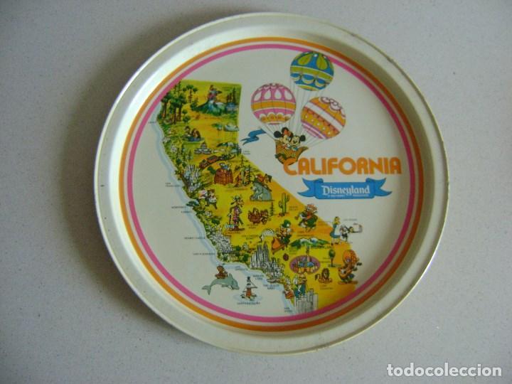 Vintage: PLATOS METALICOS DISNEYLAND , CALIFORNIA , USA . - Foto 4 - 119391251