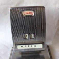 Vintage: CALENDARIO DE MESA . MARCA PETRUS .IDEAL DECORACIÓN . Lote 119484091