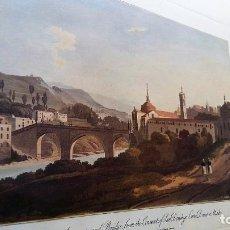 Vintage: AMARANTE (PORTUGAL) - CÓPIA DE LAMINA ANTIGUA. Lote 119623755