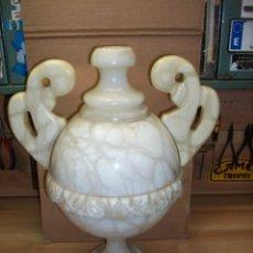 Vintage: ANTIGUA LAMPARA DE ALABASTRO. Lote 119861675