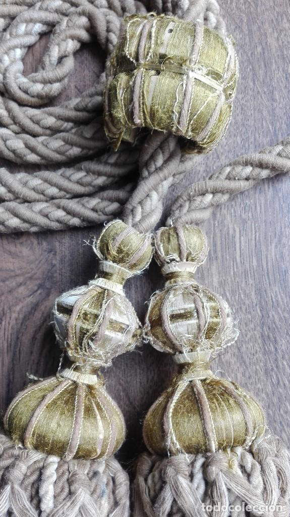 Vintage: Antiguo cordón de cortina - Foto 3 - 119917983