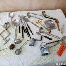 Vintage: LOTE DE VARIOS UTENSILIOS DE COCINA VINTAGE. Lote 121157103