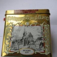 Vintage: CAJA DE BOMBONES DE HOJALATA CON MÚSICA DE NAVIDAD EN PERFECTO ESTADO. Lote 56575417