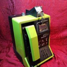 Vintage: TELEFONO PUBLICO DE MONEDAS - PESETAS - AÑOS 80. TELEFONICA MODELO TRM 100. Lote 123410571