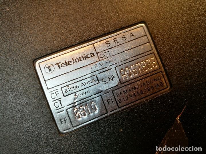 Vintage: TELEFONO PUBLICO DE MONEDAS - PESETAS - AÑOS 80. TELEFONICA MODELO TRM 100 - Foto 10 - 123410571