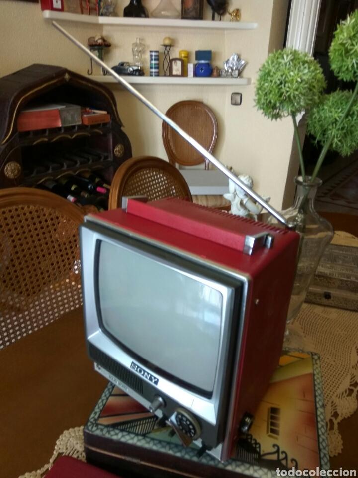 Vintage: TRANSISTOR TELEVISOR SONY MODELO 9-51 UET FAB.KOSMOS ELECTRICA GRANOLLERS BARCELONA - Foto 5 - 124256334