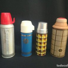 Vintage: 4 THERMOS VINTAGE - 60'S & 70'S. Lote 125770679