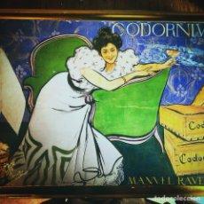 Vintage: CAJA DE METAL DE CODORNIU. Lote 123440284
